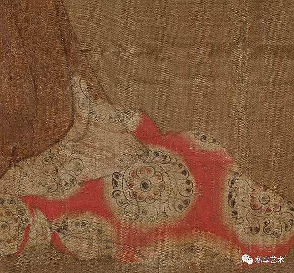 为什么这张唐代绘画中的仕女很像电影中看到的日本女人图片