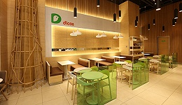 """在上海开了一家大地色系的""""舒食+""""餐厅 德克士又要反攻一线城市了"""