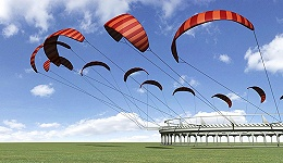 【工业之美】英国要在450米高空建风筝发电站 发电成本仅为传统风电的一半