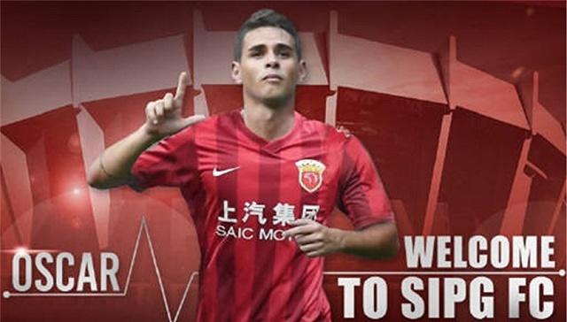 上港新援奥斯卡誓言帮助中国足球 新赛季目标