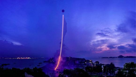 带我去月球_【上海电影节】蔡国强:《天梯》之后我要想做通往艺术史的 ...