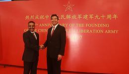 中国驻印使馆庆建军90周年谈中印对峙:中方立场非常明确和坚定