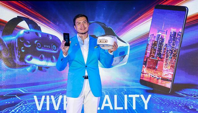 HTC发布了5888元的新手机,但VR还是这家公司的重点