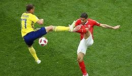福斯贝里建功 瑞典1-0小胜瑞士晋级八强