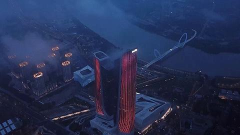 新酒店|从迪拜到南京,卓美亚在扎哈遗作中打造了诗意江南
