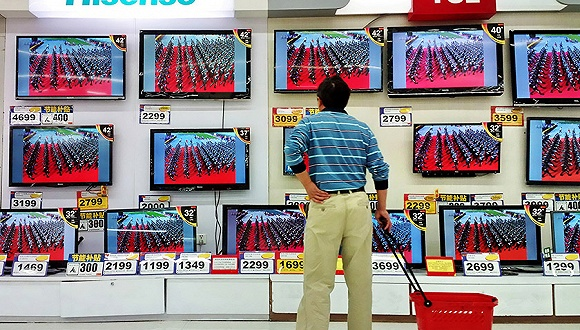 电视机业价格战:50寸电视仅1799元 业内称卖1台亏1台