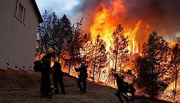 加州大火已致70余人死 为何人类无法控制森林火灾?