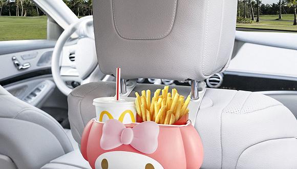 如何一边坐车一边优雅吃薯条?日本麦当劳的薯条收纳盒解决了问题