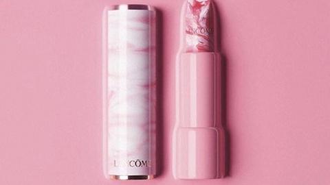 【是日美好事物】兰蔻新出粉红大理石纹唇膏,Dior马鞍包有了太空风金属新色