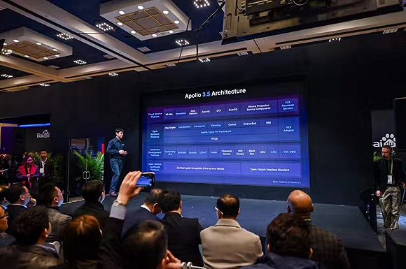 【CES 2019】百度发布新版Apollo3.5自动驾驶系统,可支持复杂城市道路
