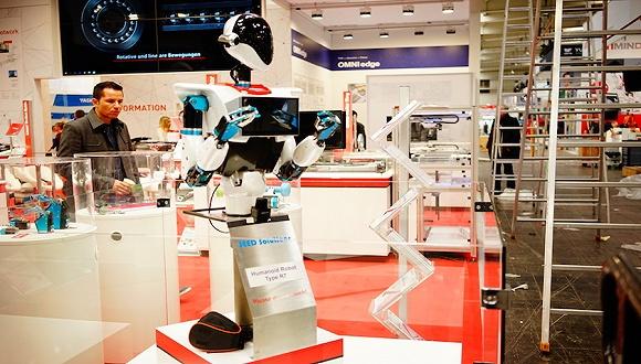 2019汉诺威工业展|从数字化双胞胎到仿真机器人,软件和硬件越来