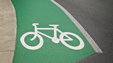 北京市首条自行车专用路预计5月底基本完工