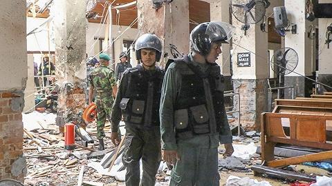 斯里兰卡警方逮捕多名嫌犯,一周前曾发布警报提示教堂可能遇袭