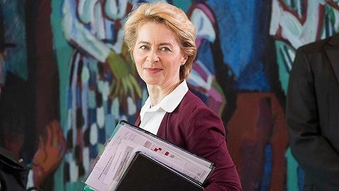 """权力游戏下决出欧盟新""""总理"""":德国女防长君临欧洲之路"""