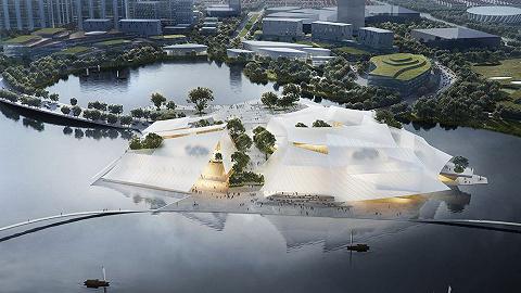 """MAD设计的""""漂浮式""""大剧院,或将成为浙江义乌下一个文化地标"""