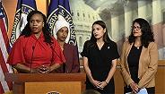 """美国会女议员驳特朗普""""回家""""言论:你非法?#32456;及?#23467;,不值得拥护"""
