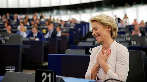"""微弱优势惊险通过表决,欧盟诞生首位女""""总理"""""""
