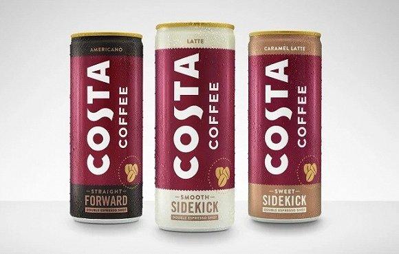 被可口可乐收购的Costa都推出了风味独特的碳酸咖啡