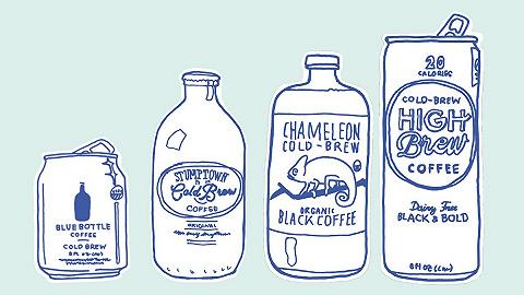 【特写】一瓶罐装咖啡里装着多少秘密?