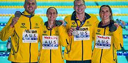 游泳世锦赛澳大利亚选手涉嫌服药,队友集体缄口