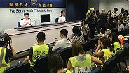 香港警方在5号多区暴力违法活动中共拘捕148人,7名警员受伤
