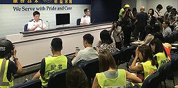 香港警方在5號多區暴力違法活動中共拘捕148人,7名警員受傷