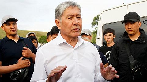 被围两天后吉尔吉斯斯坦前总统投降,支持者与警方激烈冲突
