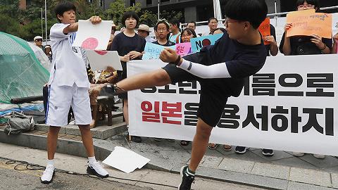 """反制来了,韩国政府决定将日本踢出""""白名单""""9月生效"""