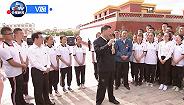 独家视频丨习近平考察山丹培黎学校和山丹马场