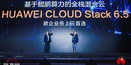 华为发布混合云解决方案HCS6.5,今年要重金打造鲲鹏产业生态
