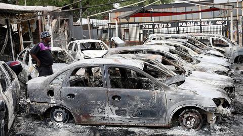 """南非否认近期暴力事件是""""排外行为"""":死者和被毁商店大多是南非的"""