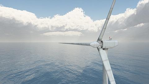 中國首臺10MW海上風電機組下線,為國內最大、全球第二