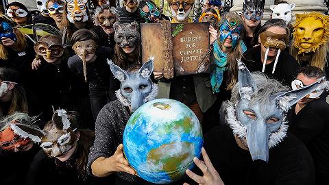 """知名度最高的氣候抗議團體,""""反抗滅絕""""為何能席卷西方?"""