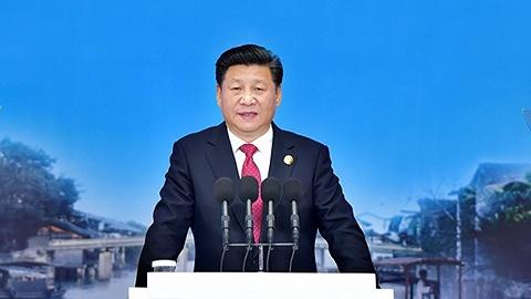 习近平总书记向第六届世界互联网大会致贺信