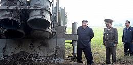 朝鲜宣布成功试射超大型火箭炮,金正恩表示极大满意