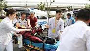 10分钟接诊10名伤员,华山医院虹桥院区举行应急演练