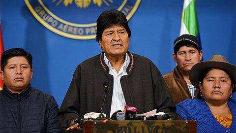 """墨西哥外交部:莫拉莱斯曾""""口头并正式""""请求政治庇护,墨方已批准"""