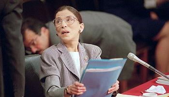 """""""没有Ruth,你永远拼不出Truth?#20445;?#19982;金斯伯格大法官的对话"""