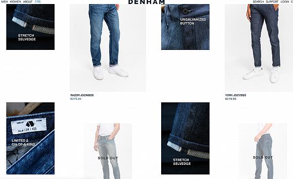 赫基集团收购的牛仔品牌Denham推出全球首款可生物降解弹力牛仔裤,目前已上市图2