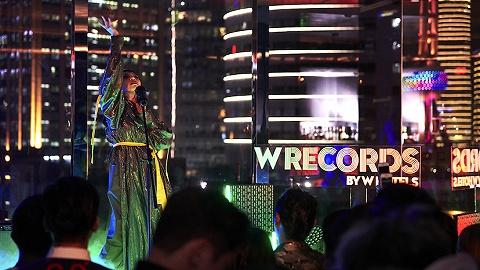 继公布W Records全新签约艺人后,上海外滩W酒店迎来一场视听盛宴
