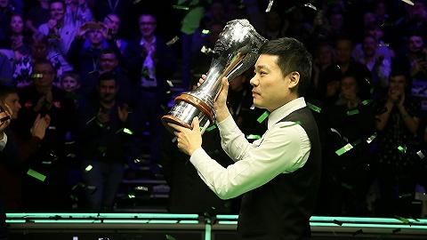 时隔十年英锦赛再夺冠,丁俊晖回归世界前十获大师赛资格