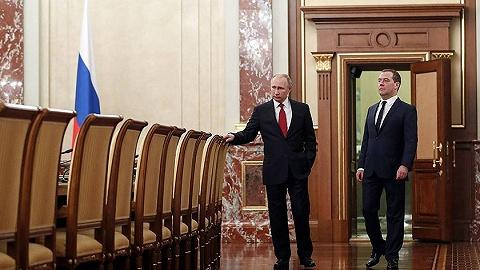 普京發表國情咨文后,俄總理梅德韋杰夫宣布政府全體辭職