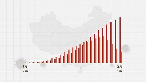 數據   (截至2月12日24時)新型冠狀病毒感染肺炎病例通報例