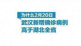 图解   为什么武汉新增病例高于湖北全省?
