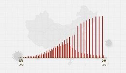 数据   (截至2月20日24时)新型冠状病毒感染肺炎病例通报例