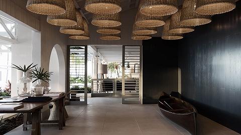 新酒店|加勒比海上的岛屿酒店,将内外空间链接在一起