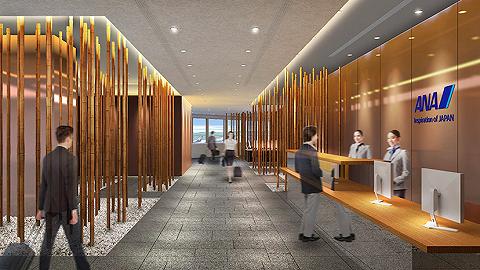 全日空在东京羽田和成田机场推出新休息室,还能找到隈研吾的设计特色