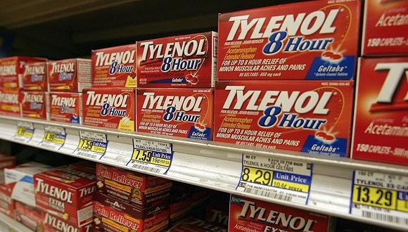 原料药短缺 常用退烧药泰诺在美国面临供应不足