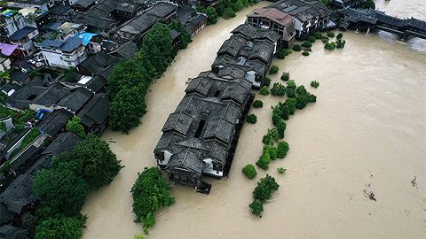 中央气象台连发30天暴雨预警,6月以来已有250条河流发生超警洪水