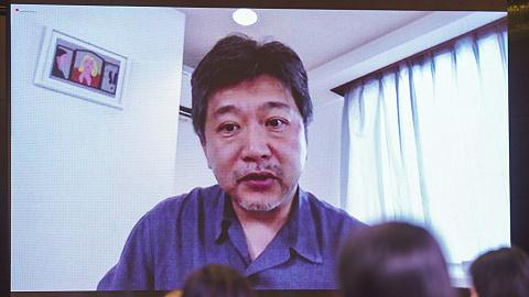 【上海电影节】是枝裕和:我特别喜欢恐龙,最近真拿铲子挖出了化石